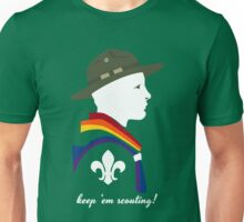 Keep 'em Scouting! (Scouting Equality) Unisex T-Shirt