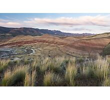 Painted Hills Overlook Photographic Print