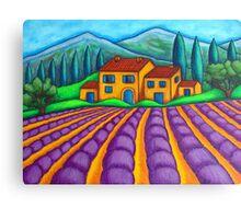 Les Couleurs de Provence Canvas Print