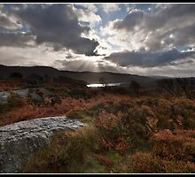 Windermere sunburst by Shaun Whiteman