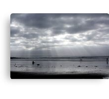 Silver Surfer - Croyde Bay Canvas Print