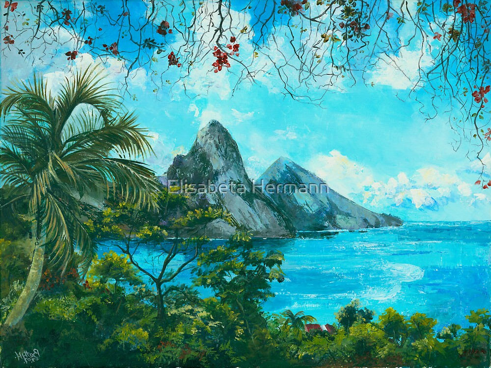 St. Lucia - W. Indies No. I by Elisabeta Hermann