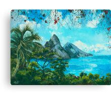 St. Lucia - W. Indies No. I Canvas Print