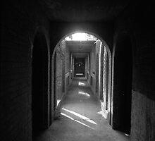 hallway by Lloyd Sherman