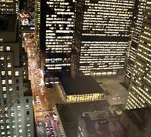 Bay St. Toronto by PPPhotoArt