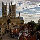 Lincoln Cathedral by Uwe Rothuysen
