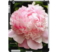 Peony ~ You Are the Dancing Queen! iPad Case/Skin