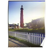 Ponce Inlet Forida Side View Poster