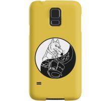 TMNT - Yin Yang - Splinter & Shredder 03 - White Samsung Galaxy Case/Skin