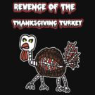 Zombie Thanksgiving Turkey  by Rajee