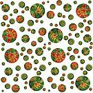 Green Petri Dish Polka Dot by effiedee