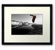 """Kite Flying at Mara Creek"" Framed Print"