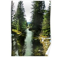 Spanish Creek, Montana Poster