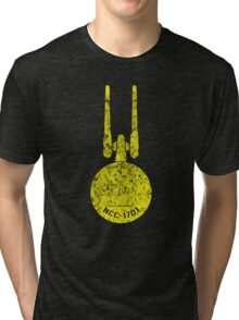 The U.S.S. Enterprise Tri-blend T-Shirt