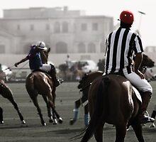 Referee keeping an eye on things - Dubai by hettie