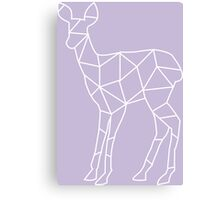 Geometric Doe Canvas Print