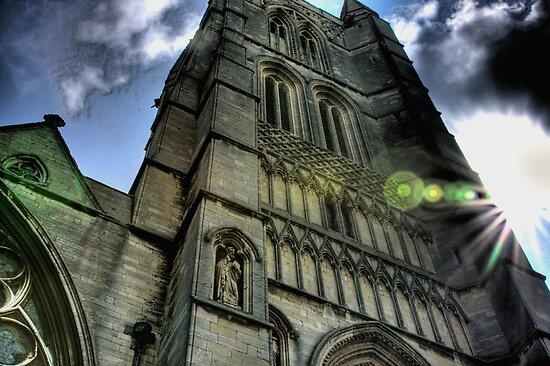 St Wulfram's Church Grantham by Jonathan Perry