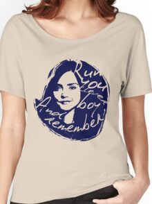 Run You Clever Boy Women's Relaxed Fit T-Shirt