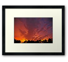 Storm's End - 6 Framed Print