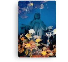 Mary Reflecting Canvas Print