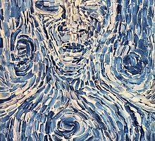 Portrait in Blue. by - nawroski -