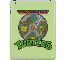 TMNT - Sewer Lid Four Turtles with Splinter  iPad Case/Skin