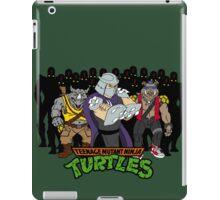 TMNT - Foot Soldiers with Shredder, Bebop & Rocksteady - Teenage Mutant Ninja Turtles iPad Case/Skin