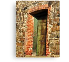 Door to the Past Canvas Print
