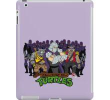 TMNT - Foot Soldiers 02 with Shredder, Bebop & Rocksteady - Teenage Mutant Ninja Turtles iPad Case/Skin