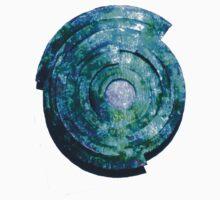 Blue/Aqua/Green Shield-t Kids Clothes