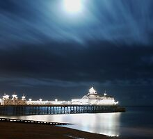 November Evening On Eastbourne Pier by SAngell