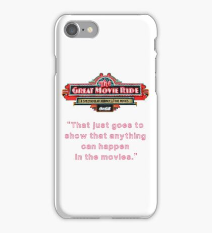 The Great Movie Ride iPhone Case/Skin