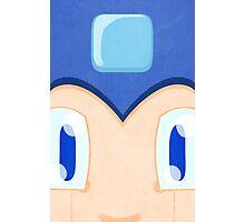 Megaman: Robotic Eyes Photographic Print