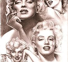 Marilyn Monroe by Alleycatsgarden