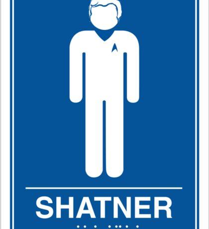 Shatner Sticker