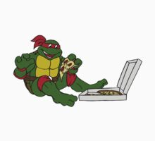 TMNT - Raphael with Pizza Kids Clothes