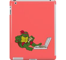 TMNT - Raphael with Pizza iPad Case/Skin