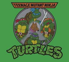 TMNT - Sewer Lid Four Turtles with Splinter  Kids Clothes