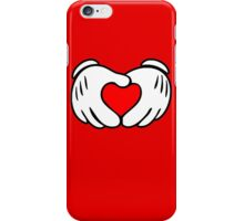 Love fingers. iPhone Case/Skin