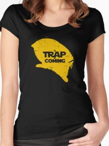 A Trap is Coming Women's Fitted Scoop T-Shirt