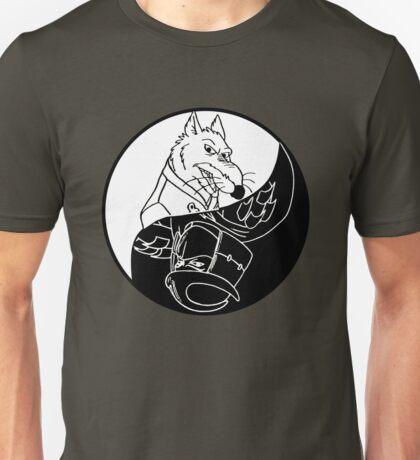 TMNT - Yin Yang - Splinter & Shredder 03 - White Unisex T-Shirt