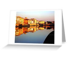 Perfect Pisa Reflection Greeting Card
