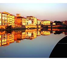 Perfect Pisa Reflection Photographic Print