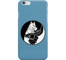 TMNT - Yin Yang - Splinter & Shredder 04 - Black iPhone Case/Skin