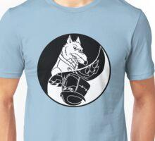 TMNT - Yin Yang - Splinter & Shredder 04 - Black Unisex T-Shirt