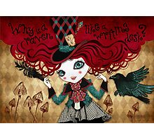 Mad Riddle Photographic Print