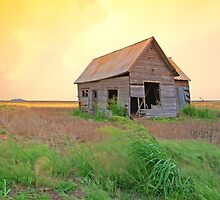 Sunset On The Land,......Oklahoma by JohnDSmith