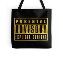 WARNING - GOLD EDITION Tote Bag