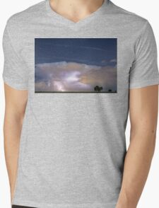 Watching Natures Show Mens V-Neck T-Shirt