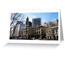 Adelaide Town Hall, King Wlm.Street, City. Greeting Card